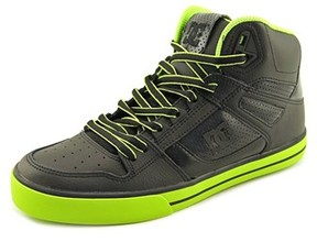 DC Spartan High Wc Round Toe Leather Skate Shoe.