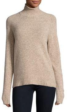 Equipment Inez Marled Turtleneck Wool Sweater