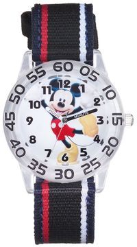 Disney Disney's Mickey Mouse Boys' Time Teacher Watch