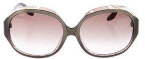 Emilio Pucci Gradient Round Sunglasses w/ Tags