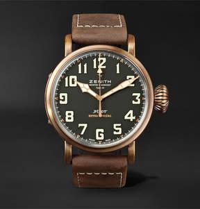 Zenith Pilot Type 20 Extra Special 45mm Bronze And Nubuck Watch