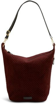 Vera Bradley Carson Hobo Bag - CHOCOLATE RAISIN - STYLE