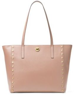 MICHAEL Michael Kors Large Rivington Studded Leather Tote