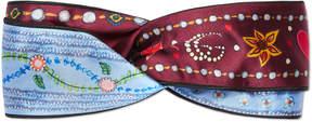 Gucci Unskilled Worker silk headband