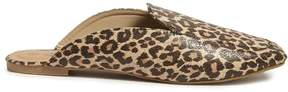 Forever 21 Leopard Print Mules