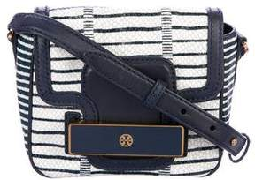 Tory Burch Snake Jeweled Shoulder Bag - BLUE - STYLE