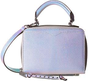 Rebecca Minkoff Box Crossbody Cross Body Handbags - OPAL IRIDESCENT - STYLE