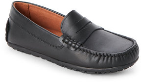 Umi Kids Boys) Black Daniel II Penny Loafers