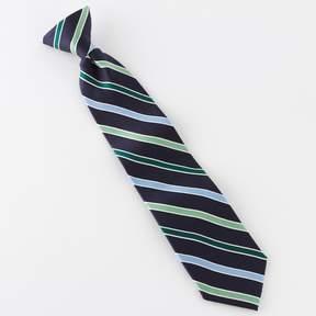 Chaps Striped Clip-On Tie