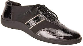 Ros Hommerson Black Nancy Leather Sneaker - Women