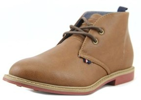 Tommy Hilfiger Michael Chukka Youth Round Toe Synthetic Brown Chukka Boot.