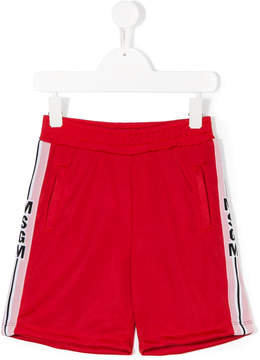 MSGM logo casual shorts