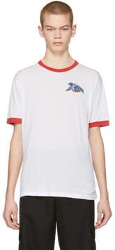 Off-White White Eagle Ringer T-Shirt