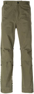 MHI tiger embroidered trousers