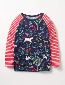 Boden Hotchpotch Raglan T-shirt