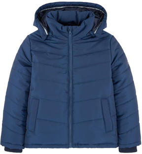 BOSS Padded coat with a removable hood