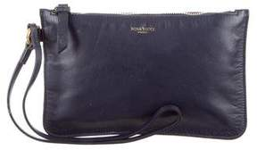 Nina Ricci Leather Zip Pochette