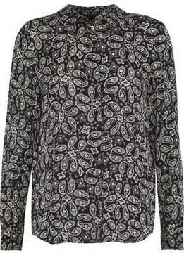 Belstaff Paisley-Print Crepe Shirt