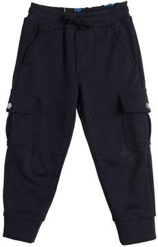 Dolce & Gabbana Cotton Sweatpants W/ Cargo Pockets