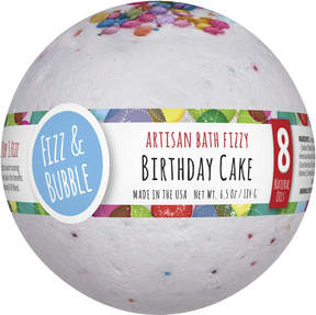 Fizz & Bubble Birthday Cake Large Bath Fizzy
