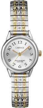Timex Carriage by Women's Cate Watch, Two-Tone Stainless Steel Expansion Band