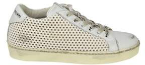 Leather Crown Women's White Leather Sneakers.