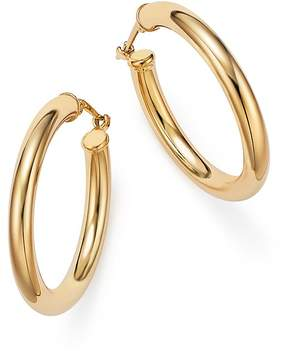 Bloomingdale's 14K Yellow Gold Tube Hoop Earrings - 100% Exclusive