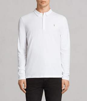 AllSaints Brace Long Sleeved Polo Shirt