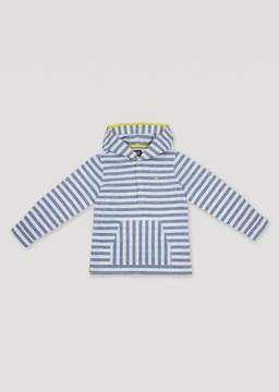 Armani Junior Hooded Linen Chambray Shirt