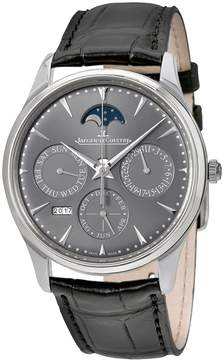 Jaeger-LeCoultre Jaeger Lecoultre Master Ultra Thin Perpetual Silver Dial Automatic Men's Watch