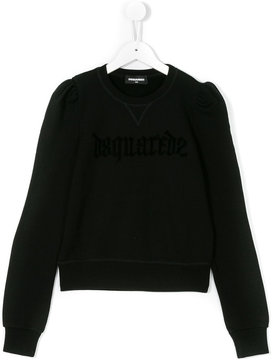 DSQUARED2 logo embroidered sweatshirt