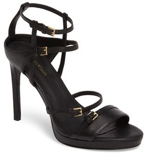 Calvin Klein Women's Shantell Strappy Platform Sandal