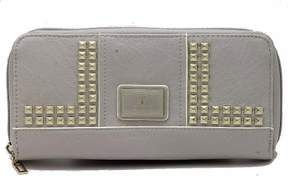 GUESS Women's Road Trip SLG VG452846 Large Zip Around Clutch Wallet Dove