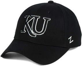 Zephyr Kansas Jayhawks Black & White Competitor Cap