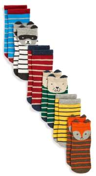 Tucker + Tate Infant Boy's Print 6-Pack Crew Socks