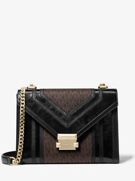 MICHAEL Michael Kors Whitney Large Logo Convertible Shoulder Bag