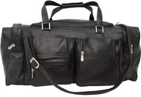 Piel Leather 24 Duffel with Pockets