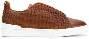 Ermenegildo Zegna woven sneakers