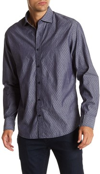 James Campbell Tolson Long Sleeve Woven Shirt