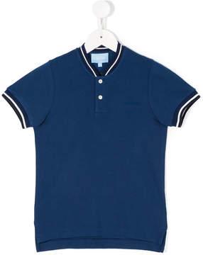 Lanvin Enfant contrast-trim polo shirt