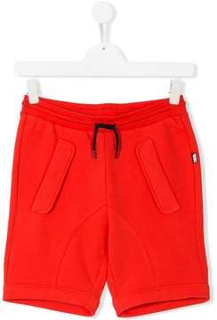 Karl Lagerfeld Teen drawstring-waist track shorts