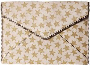 Rebecca Minkoff Leo Clutch Clutch Handbags - AZURE - STYLE