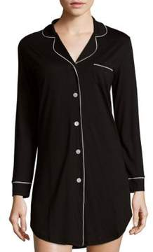 Cosabella Holiday Long-Sleeve Sleepshirt