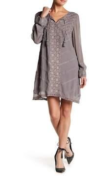 Calypso St. Barth Kylea Embroidered Silk Dress