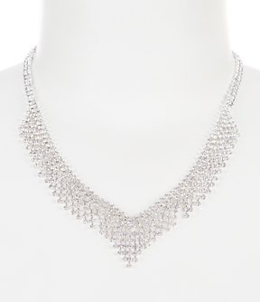 Cezanne Fringed Collar Necklace