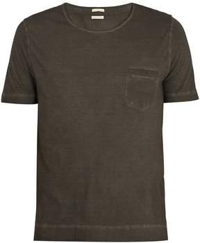 Massimo Alba Watercolour cotton T-shirt