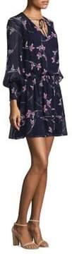 Shoshanna Torrance Silk Print Dress