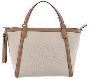 Gucci Soho Top Handle Tote - NEUTRALS - STYLE