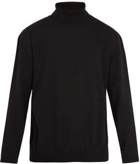 Balenciaga Roll-neck wool-blend sweater