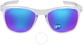 Oakley Trillbe X Polarized Sapphire Iridium Sunglasses